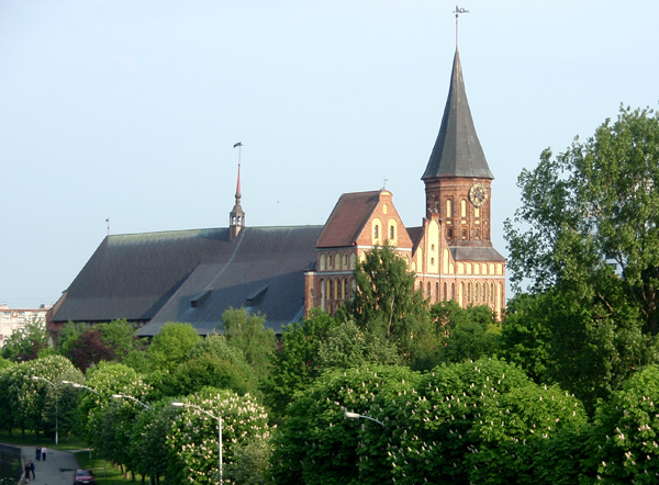 Кафедральный собор в Кенигсберге