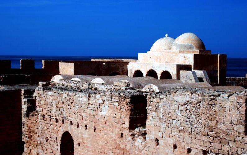 Крепость Бордж эль-Кебир в Тунисе