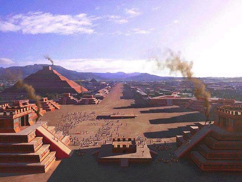 Город ацтеков Теотиуакан