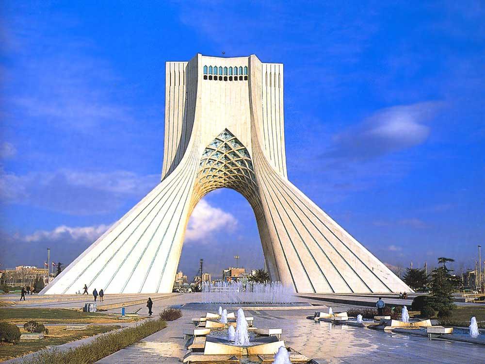 Современный город Тегеран