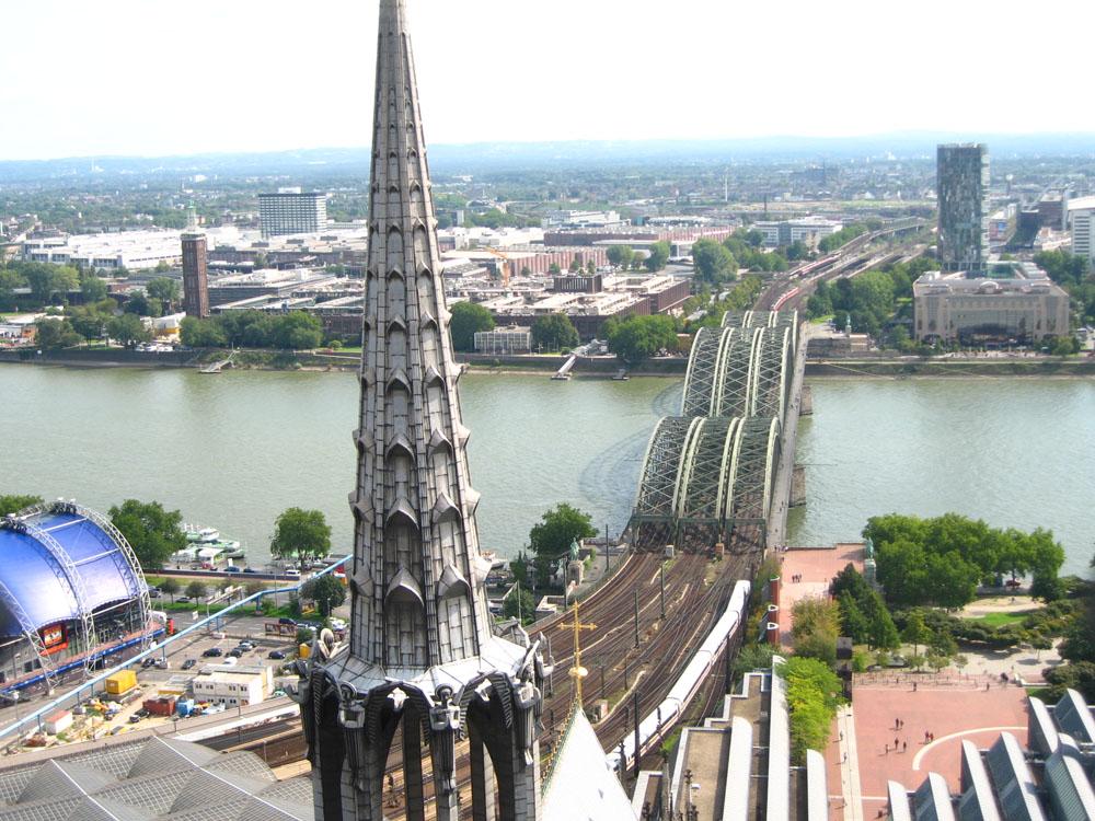 Вид на Рейн