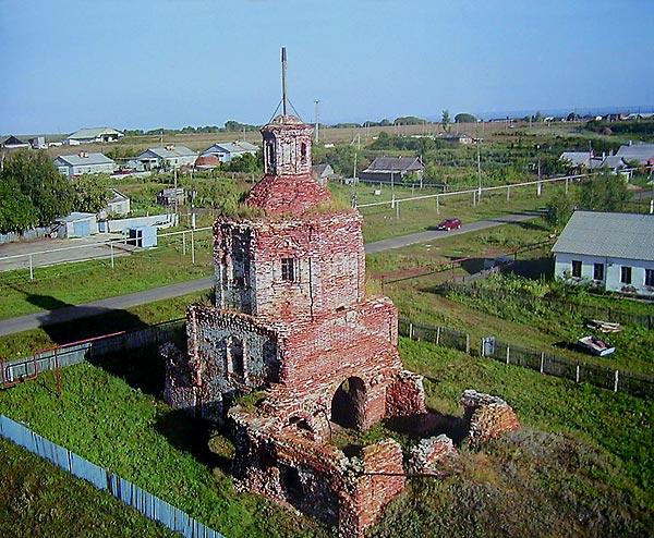 Самая старая церковь Тольяттинского района