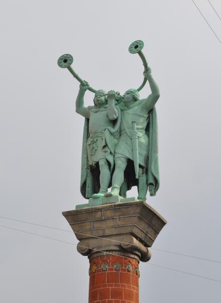 Монумент викингов трубадуров