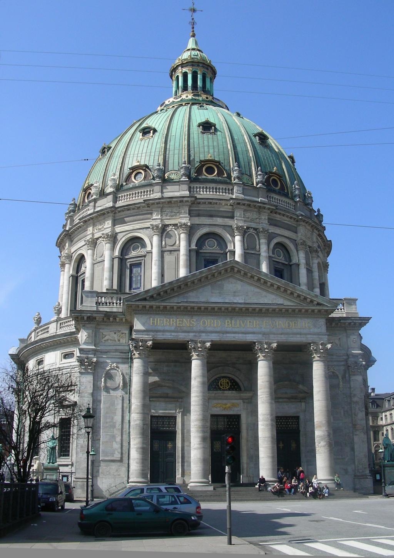 Мраморный собор в Копенгагене