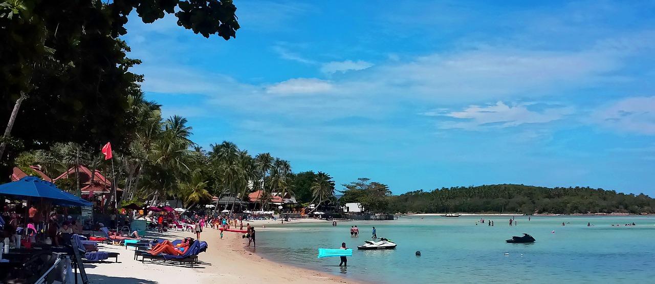 Пляж, Самуи