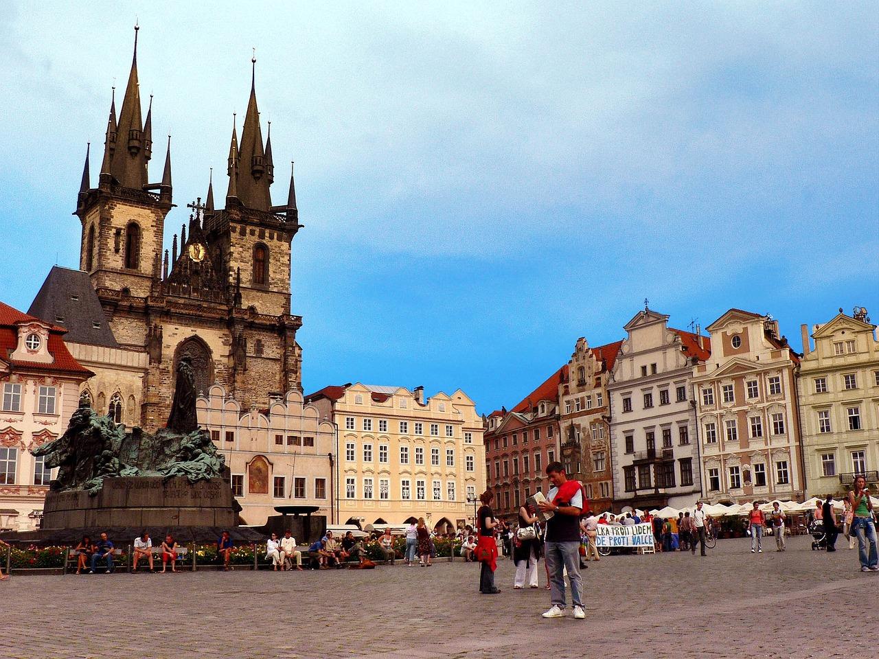 Прага, Старе Място