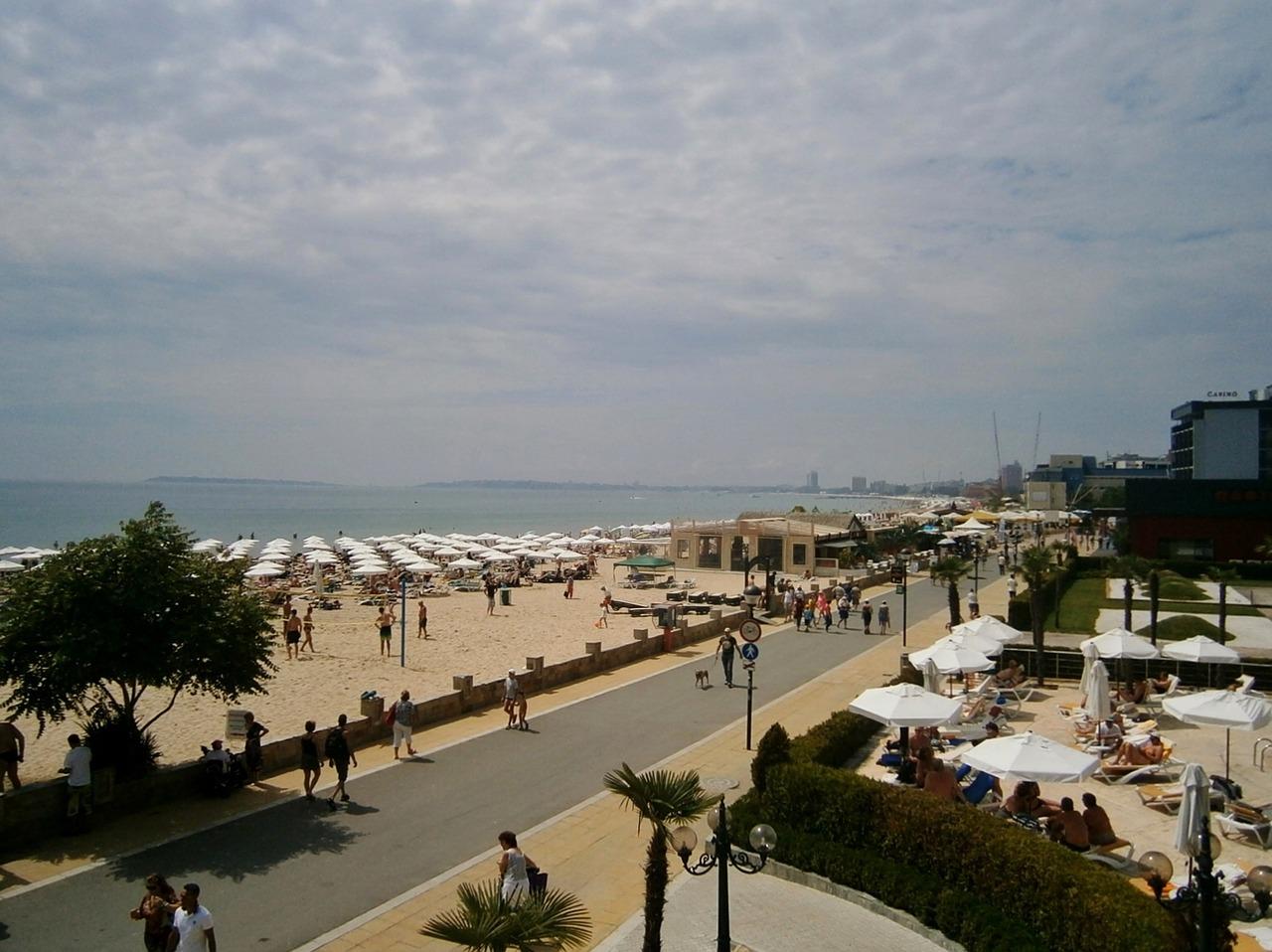 Болгария. Пляж