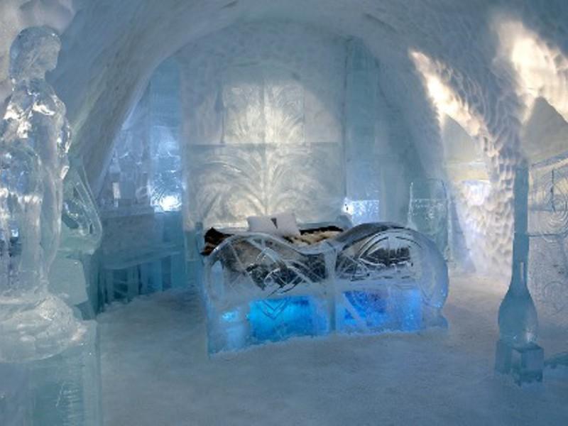 ice hotel (швеция)