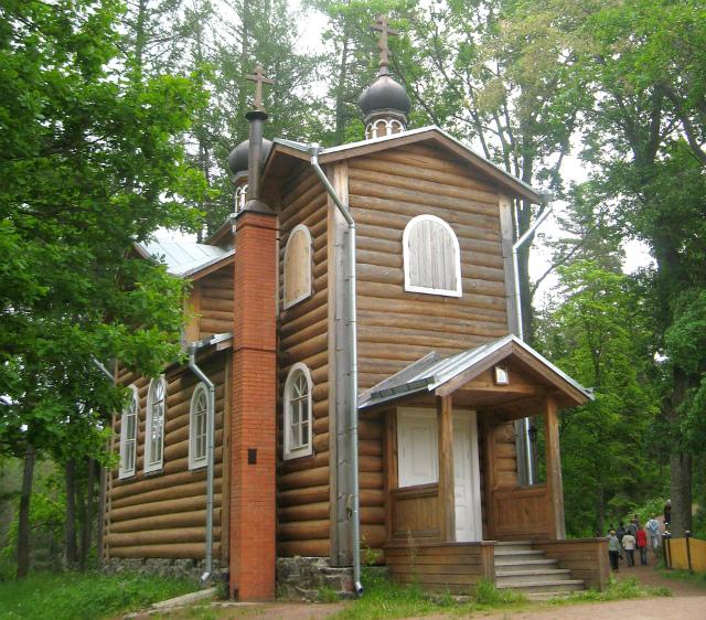 Церковь на Валааме