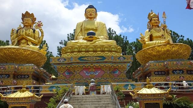 nepal-ступа Сваямбунатх