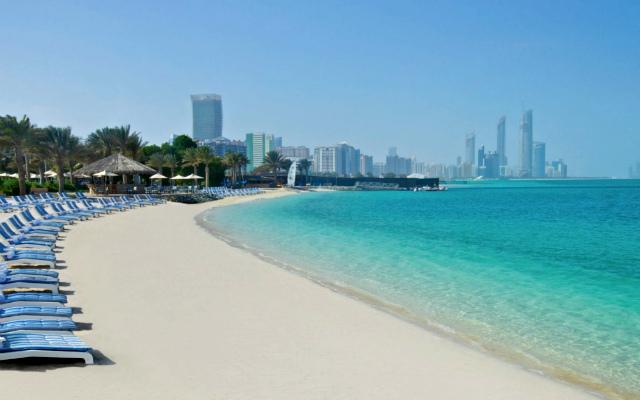 Пляж Abu-Dhabi
